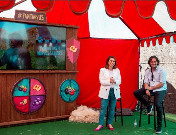 María Alvargonzález, Senior Brand Manager ,marca Fanta , Jon Lavin, director creativo ,McCann, programapublicidad,