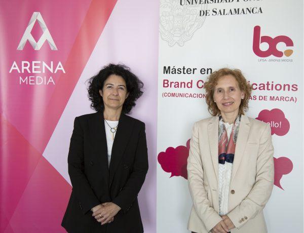 Marga Ollero, Directora General , Arena Media Madrid , Mirian de las Mercedes Cortés, rectora , Universidad Pontificia , Salamanca, programapublicidad,