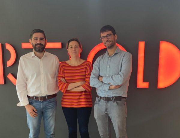 Miguel Moraleja , director de Data Science; Rubén Orta, Chief Technology Officer, Gloria Andreu, directora Producto., rebold, programapublicidad,