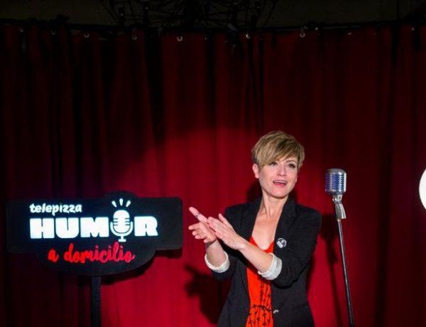 Sara Escudero ,protagoniza , primera entrega , Humor a Domicilio', telepizza, terrat, programapublicidad,