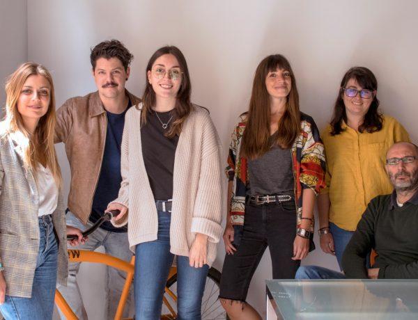 Daniel Escudero, Arantxa Fuentes , Rafael Ayuso , Lorena Campos, Berta Vicioso, y Marta Llarandi, Mi Querido Watson , programapublicidad,