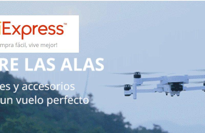 aliexpress, drones, programapublicidad,