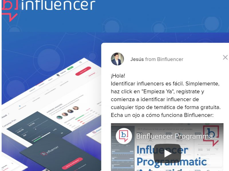 binfluencer, advertising, programmatic, programapublicidad,