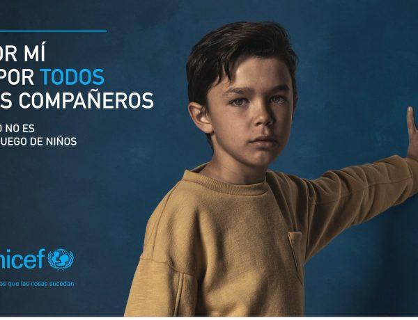 gyro, Madrid , Por mí , y por todos mis compañeros, campaña integrada , UNICEF Comité Español, programapublicidad,