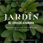 Cervezas Alhambra presenta en Madrid el espacio #JardínCervezasAlhambra.