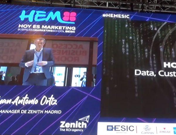 juan antonio Ortiz, zenith, data, dato, #hem, strategy director, programapublicidad,