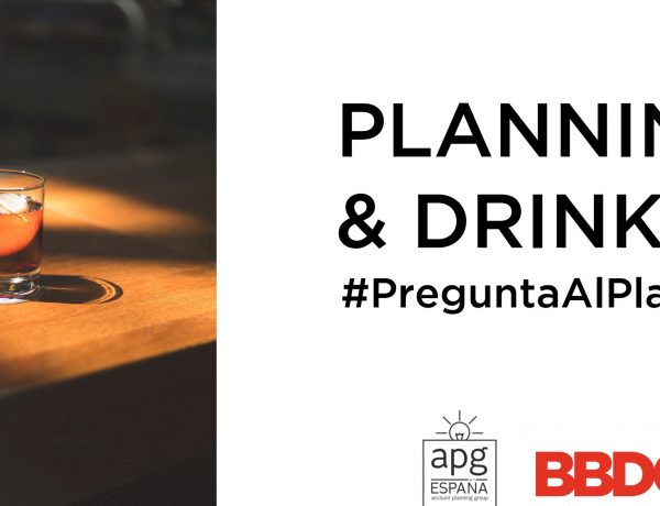 planning&drinks, apg, bbdo, programapublicidad,