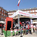Flash2flash diseña el stand del 'Santander Arena' en La Plaza Mayor