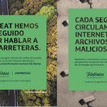 """Publicis España crea """"la transformación nos hace más fuerte"""" Para Telefónica."""