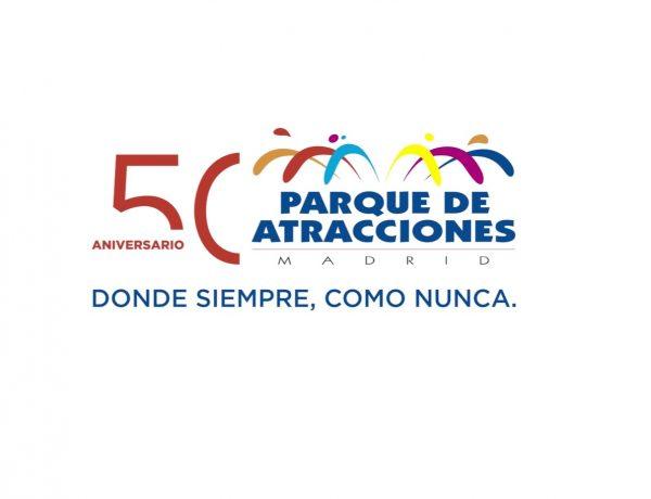 50 aniversario ,Parque de Atracciones, entrada, Madrid, programapublicidad