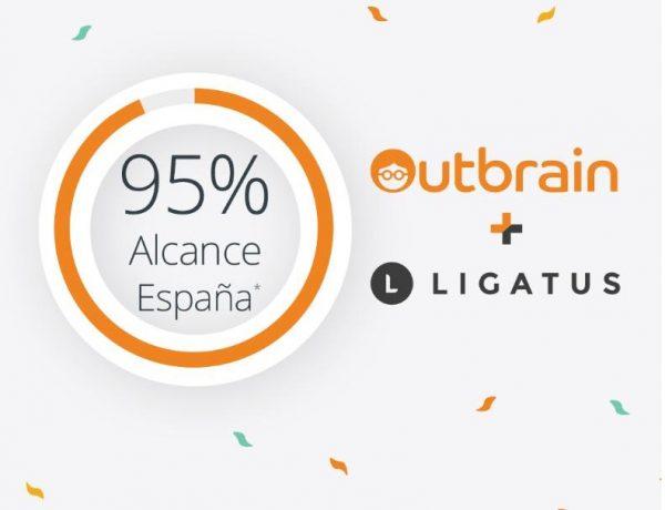 95% alcance, outbrain, ligatus, programapublicidad,