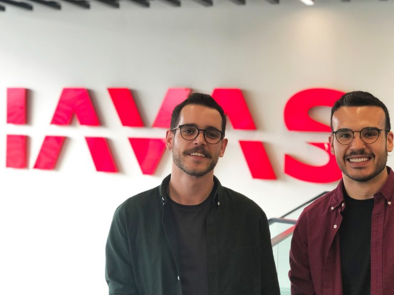 Daniel Oteiza , Director de Arte , Marc Losillas , Social Media Manager ,Havas, Havas Group., programapublicidad,