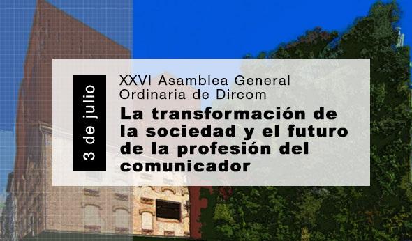 Dircom, XXVI Asamblea General ,Ordinaria, nueva edición , Anuario de la Comunicación., programapublicidad,