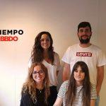 Marta Segura, Bryan Fernández, Gemma Martínez y Lorea Díez a cuentas de Tiempo BBDO.