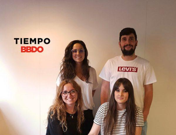 Marta Segura, Bryan Fernández, Gemma Martínez , Lorea Diez., tiempo BBDO, programapublicidad,