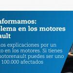 Campaña #motorenault de OCU, ante unos 100.000 vehículos afectados de Renault