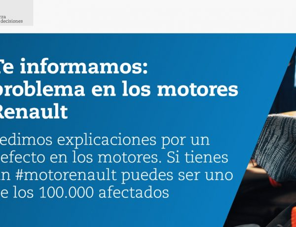 OCU, #MOTORENAULT, PROBLEMAS MOTORES, RENAULT, programapublicidad,