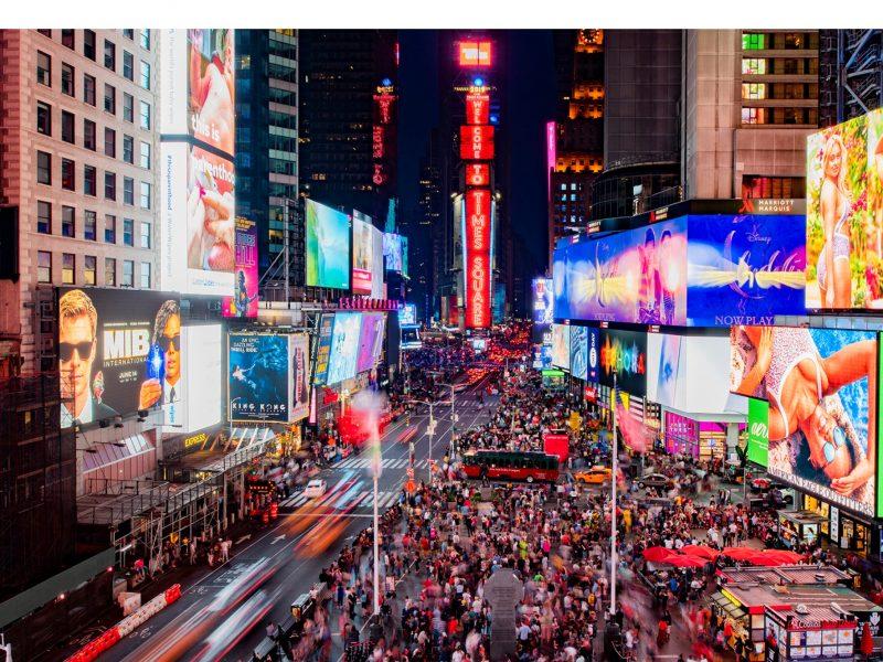 Samsung, nuevas pantallas, LED, Times Square , Nueva York, programapublicidad,