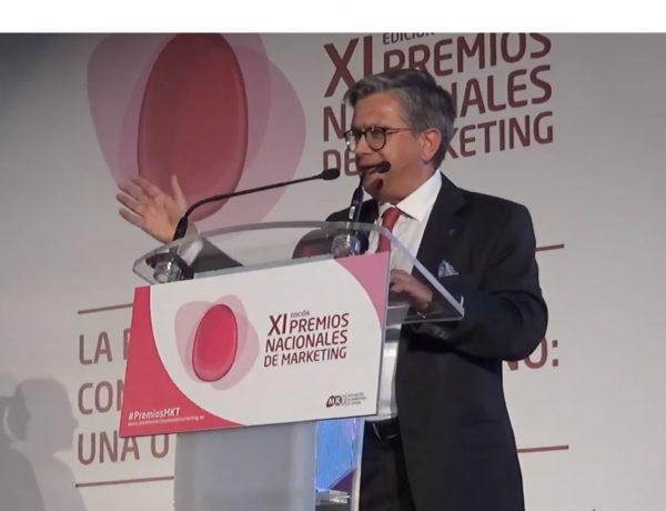 Santiago Alfonso Rodríguez, Mejor Profesional de Marketing, Cosentino,, mkt, premio, programapublicidad,