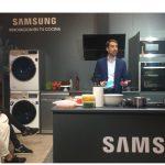 Samsung presenta sus electrodomésticos, Family Hub, con Vaquerizo y Bibiana.