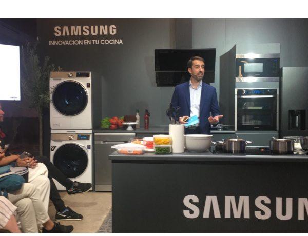 alfonso fernandez, lavadoras, cocinas, smartthings, dual cook flex, bibiana, vaquerizo, samsung, programapublicidad,