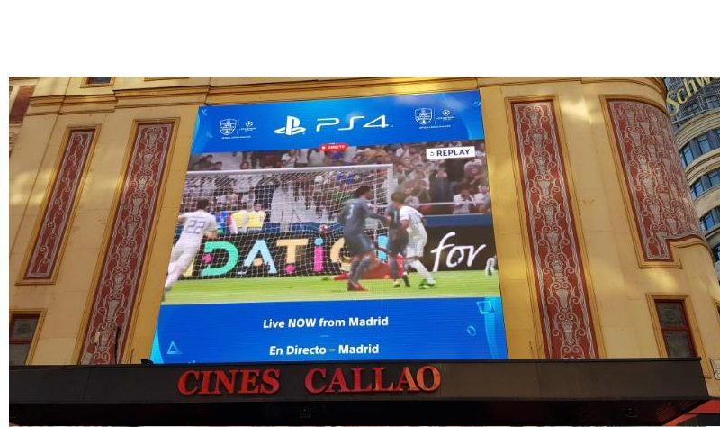 callao, city light, PlayStation 4, retransmitió, final, UEFA, Champions League, , programapublicidad,