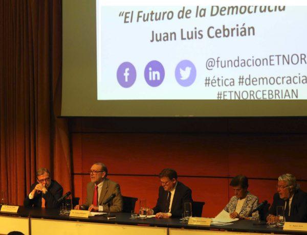 cebrian, futuro , democracia, fundacion etnor, excelencia, programapublicidad,
