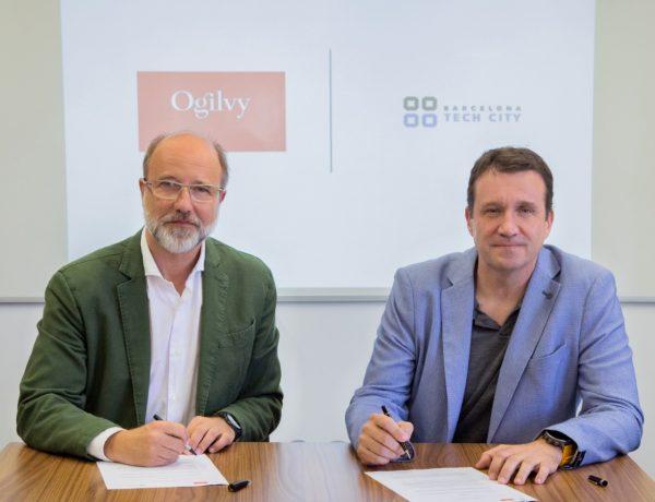 CEO de Barcelona Tech City, Miquel Martí , vicepresidente ,Ogilvy España , CEO ,Ogilvy Barcelona, Jordi Urbea, h, programapublicidad,