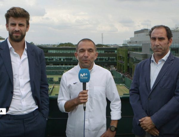 Gerard Piqué, davis cup, retransmisión de Wimbledon , #Vamos, programapublicidad,