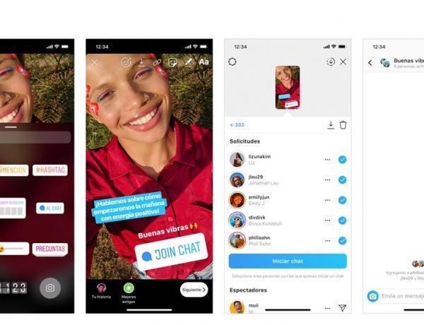Instagram , lanza , etiqueta Chat, programapublicidad,