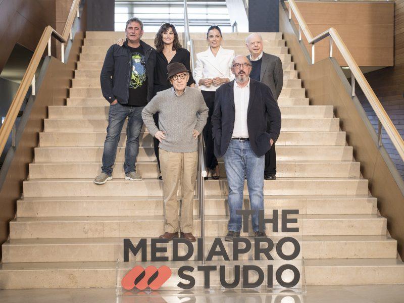 Jaume Roures, socio fundador de THE Mediapro studio, sergi lopez, elena anaya, woody allen, kursal, programapublicidad,