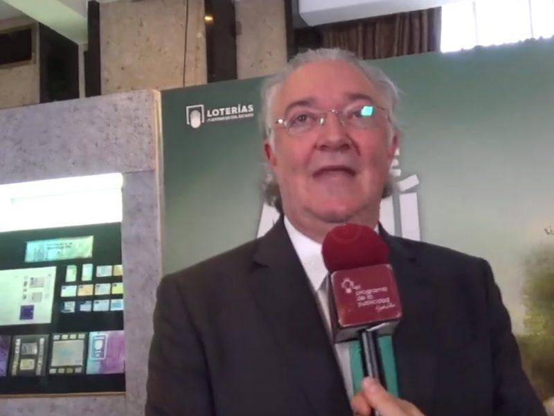 Jesús Huerta, Presidente ,Loterías, Alcanzamos , 10% de las ventas , verano, programapublicidad,