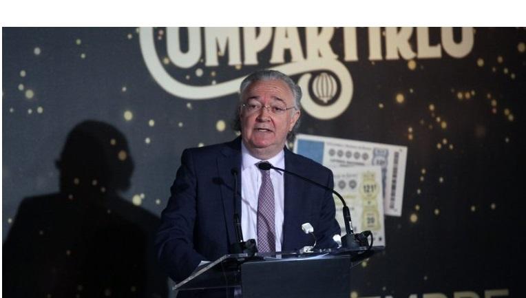 Jesús Huerta, presidente de Loterías, adivinos, y si toca aqui, programapublicidad,