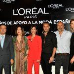 L'Oréal Paris, celebra 20 años de apoyo a la moda española.