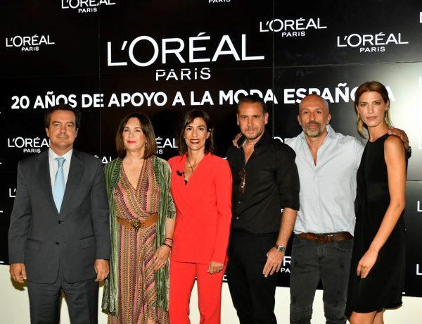 LOréal Paris, 20 años ,apoyo incondicional,moda española, programapublicidad,