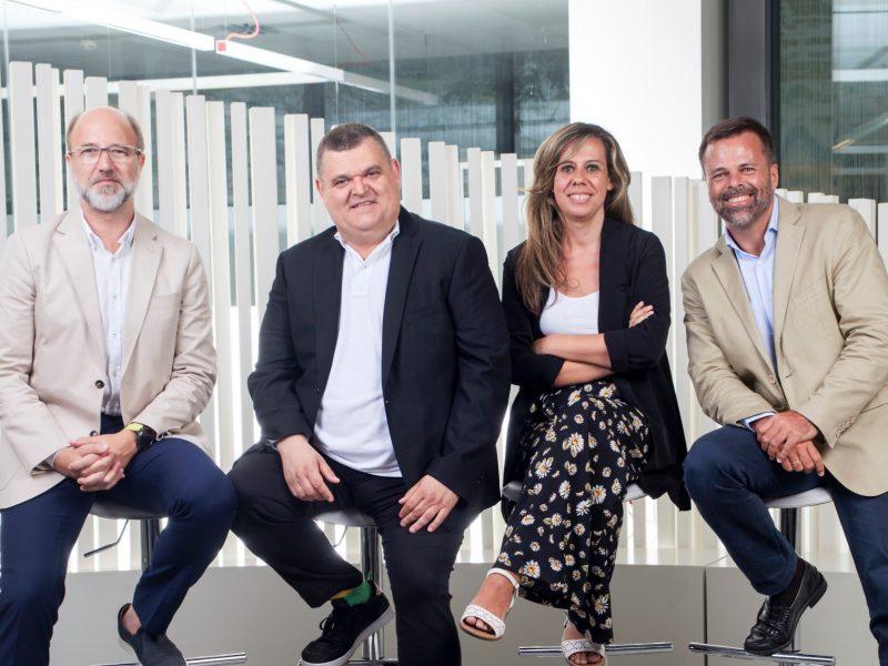 Marta Gutiérrez, CEO , Jordi Urbea, CEO Barcelona, , Luis Riva, Chief Growth Officer , España. Roberto Fara, programapublicidad, Marian,