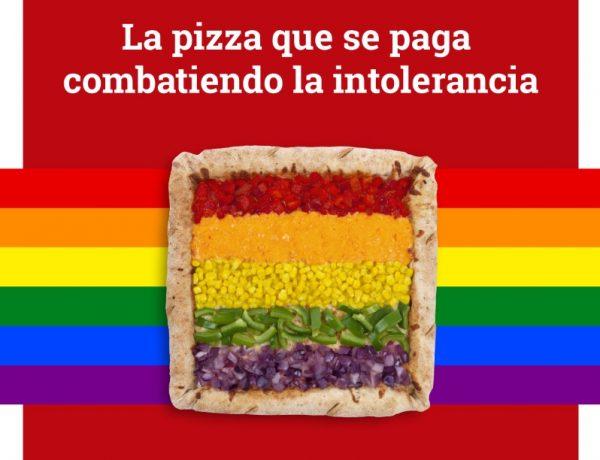 Telepizza lanza ,primera pizza, contra intolerancia,Alimenta Orgullo