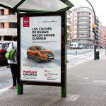 """""""Tu Nissan de aquí"""", campaña de Grupo INRED para Nissan, en Bilbao"""