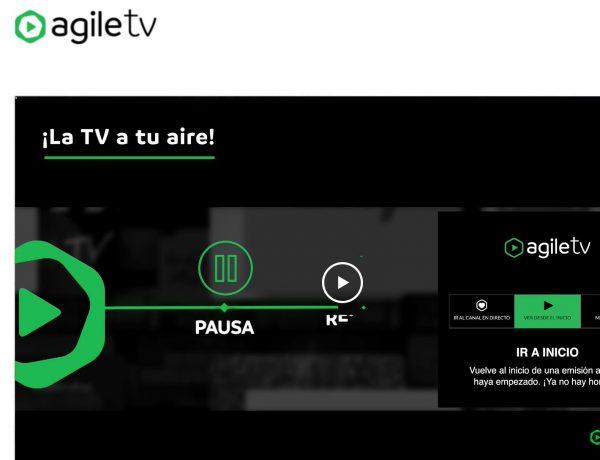 agile, tv. rakuten , programapublicidad,
