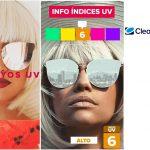 Los soportes digitales de Clear Channel, ofrecen información del índice de radiación UV.
