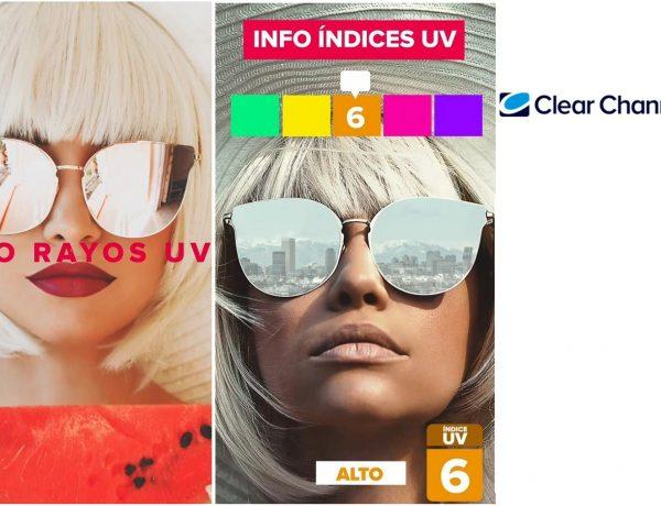 gafas, indices, UV, clear channel, programapublicidad,
