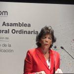 Isabel Celaá, clausura la XXVI #asambleaDircom y #anuariodircom2019: La confianza en medios se desploma.