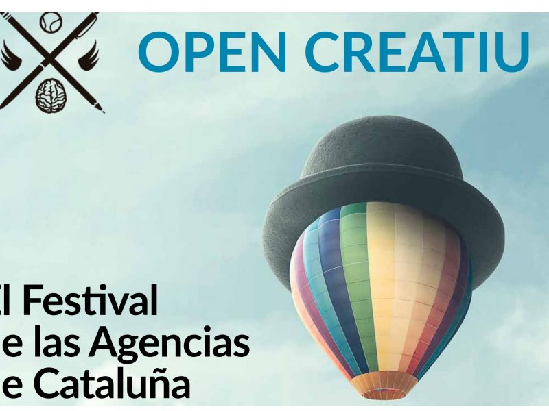 open creatiu, festival agencias, cataluña, programapublicidad,