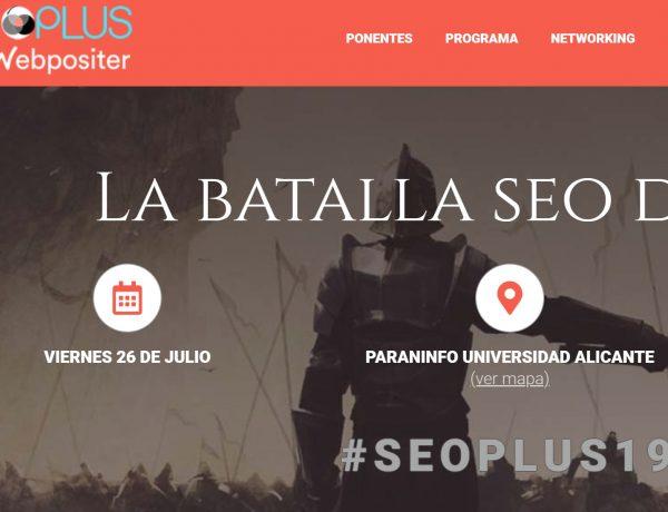 #seoplus19, alicante, 26 julio, google, mujer, programapublicidad,