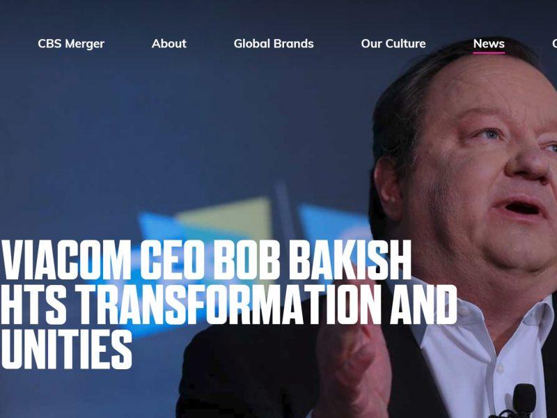 Bob Bakish, CEO, viacom, cbs, programapublicidad,