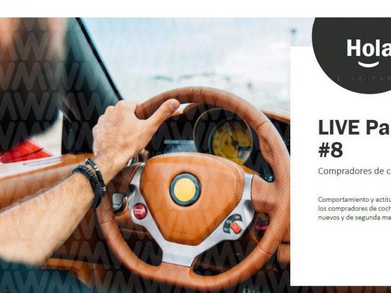 Estudio , LIVE Panel, Wavemaker, compra , coches 12 meses, programapublicidad,