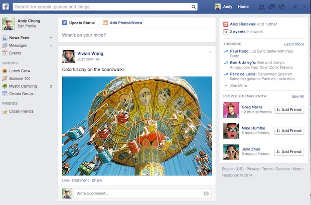 News Feed, facebook, programapublicidad,