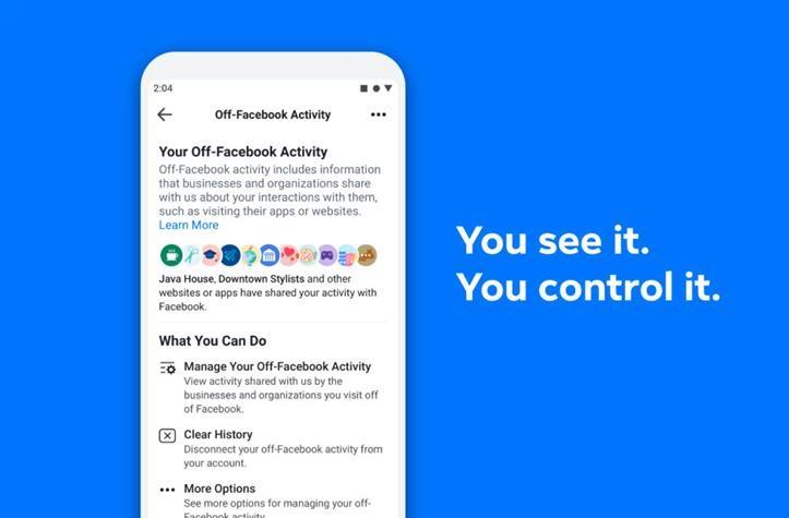 Off-Facebook , Activity,, programapublicidad,