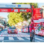 Carrefour patrocinador de La Vuelta 2019.
