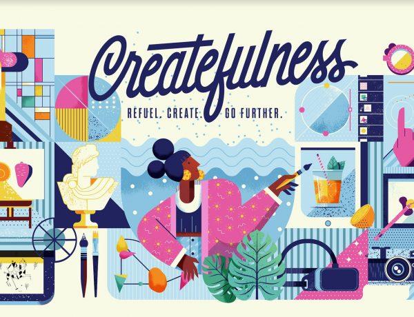 createfulness, refuel, create, go further, programapublicidad,